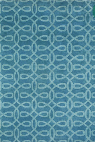 Lyrical Rug - Cornflower Blue