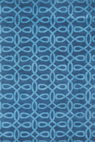 Lyrical Rug - Indigo Blue 30% OFF