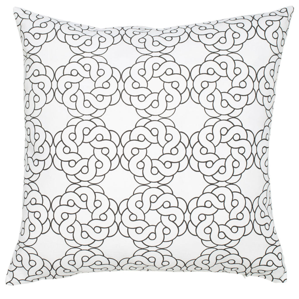 Maroc Cotton Pillow - Black