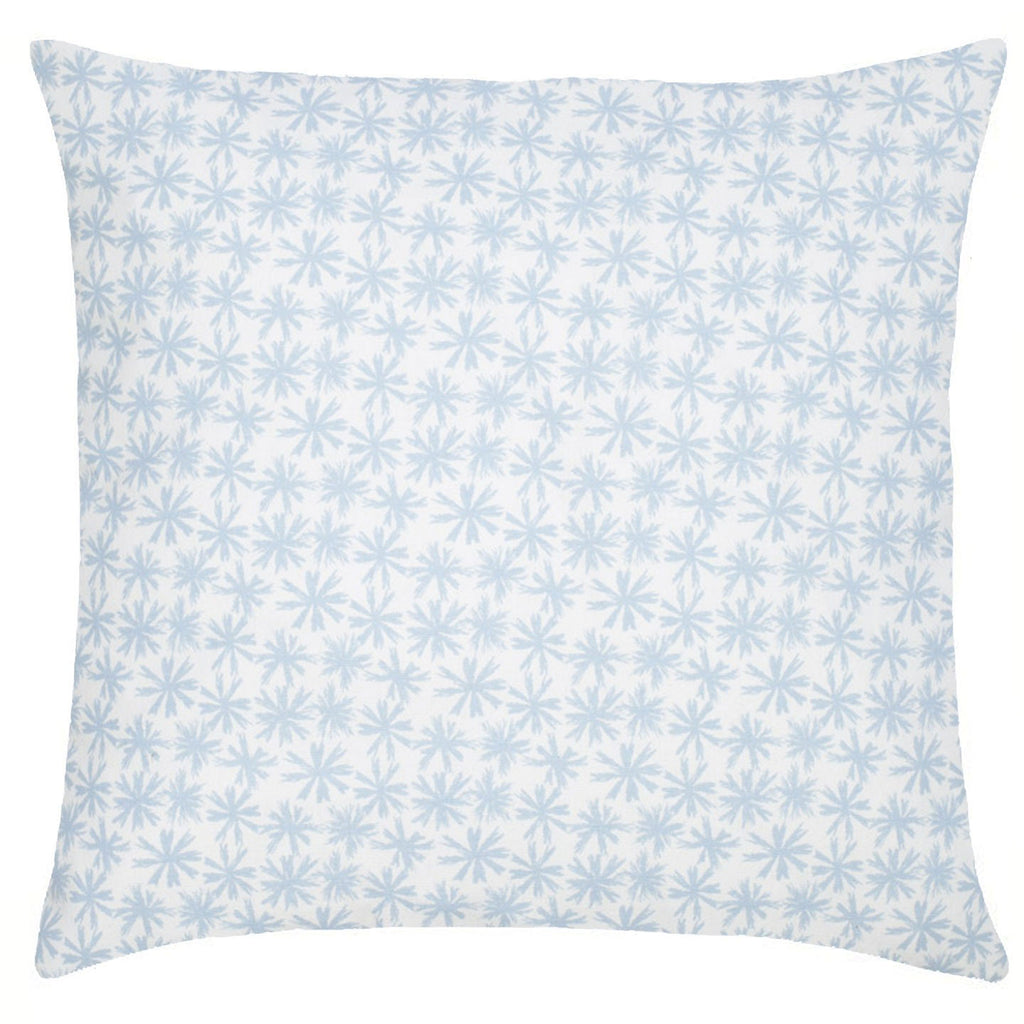 Petite Etoile Cotton Pillow - Sky Blue