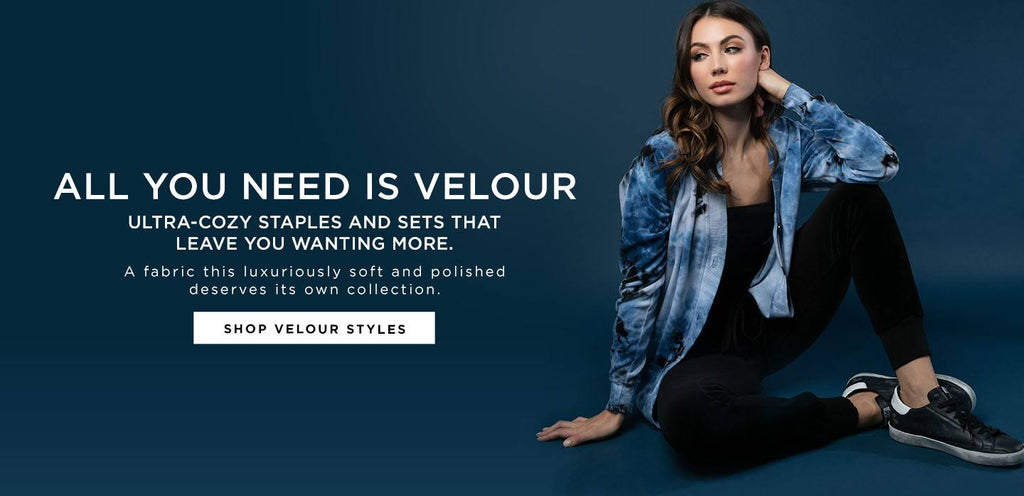 Who doesn't love the softness and sophistication of Velour
