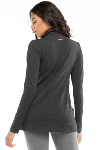 Dark Charcoal Heather Gray