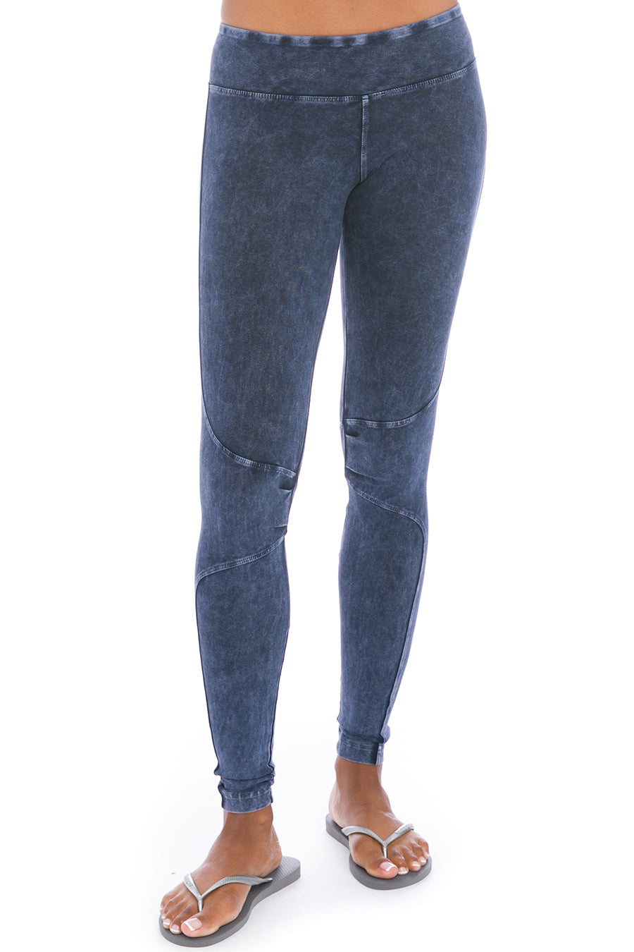 Hard Tail Forever Kick Out Ankle Legging - Mineral Wash 8 - S