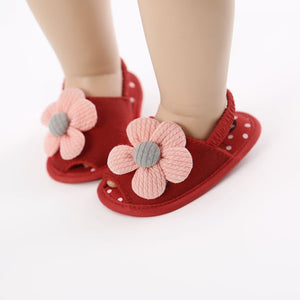 lovebabymammy.com Children Summer shoes Newborn Infant Baby Girl Princess Floral Sandals Sneakers Toddler Soft Newborn Infantil Sandals