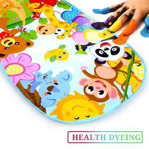 lovebabymammy.com 16 Styles Baby Music Rack Play Mat Kid Rug Puzzle Carpet Piano Keyboard Infant Playmat Early Education Gym Crawling Game Pad Toy