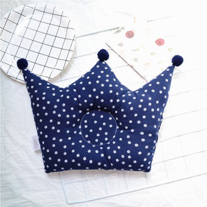 lovebabymammy.com New Baby Shaping Pillow Prevent Flat Head Infants Crown Dot Bedding Pillows Newborn Boy Girl Room Decoration Accessories