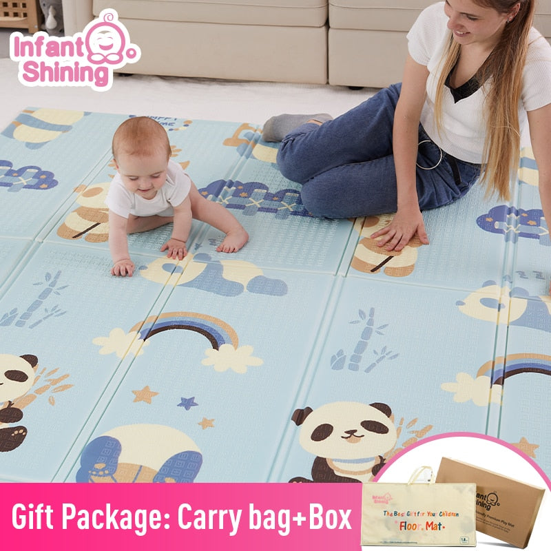 lovebabymammy.com Infant Shining Baby Mat Playmat Kids Carpet Baby Play Mat 200*180*1cm  Foam XPE Puzzle Game Pad for Infants Educational Soft Mat