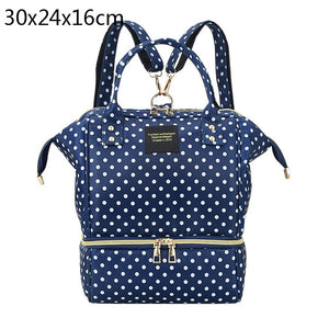 lovebabymammy.com Fashion Mummy Maternity Diaper Bag Large Baby Bags For Mom Thermal Insulation Travel Nappy Chaning Backpack Stroller Organizer
