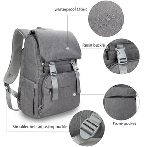 lovebabymammy.com New 2020 Diaper Bag Waterproof Oxford  Large Capacity Travel Backpack Maternity Baby Bag Backpack for Mom & Dad With USB Charge