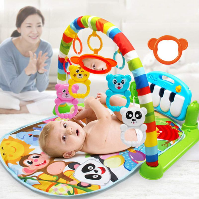 lovebabymammy.com Play Mat Baby Carpet Music Puzzle Mat With Piano Keyboard Educational Rack Toys Infant Fitness Crawling Mat Gift For Kids Gym