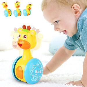 lovebabymammy.com Baby Toys Fun Little Loud Bell Baby Ball Rattles Toy Develop Baby Intelligence Grasping Toy HandBell Rattle Toys For Baby/Infant