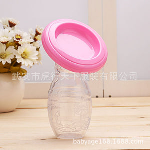 lovebabymammy.com Loozykit Manual Breast Pump Powerful Baby Nipple Suction 150ml Feeding Milk Bottles Breasts Pumps Bottle Sucking