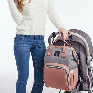 lovebabymammy.com Diaper Bag Backpack Multifunction Travel Back Pack Maternity Baby Nappy Changing Bags Large Capacity Waterproof and Stylish