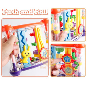 lovebabymammy.com Toys For Baby 0-12 Months Activity Play Cube Infant Development Educational Hanging Toys Newborn Rattle Toy New Born Boy Girl (Multicolor)