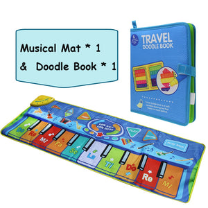 lovebabymammy.com Large Size Musical Mat Baby Play Piano Mat Keyboard Toy Music Instrument Game Carpet Music Toys Educational Toys for Kid Gifts