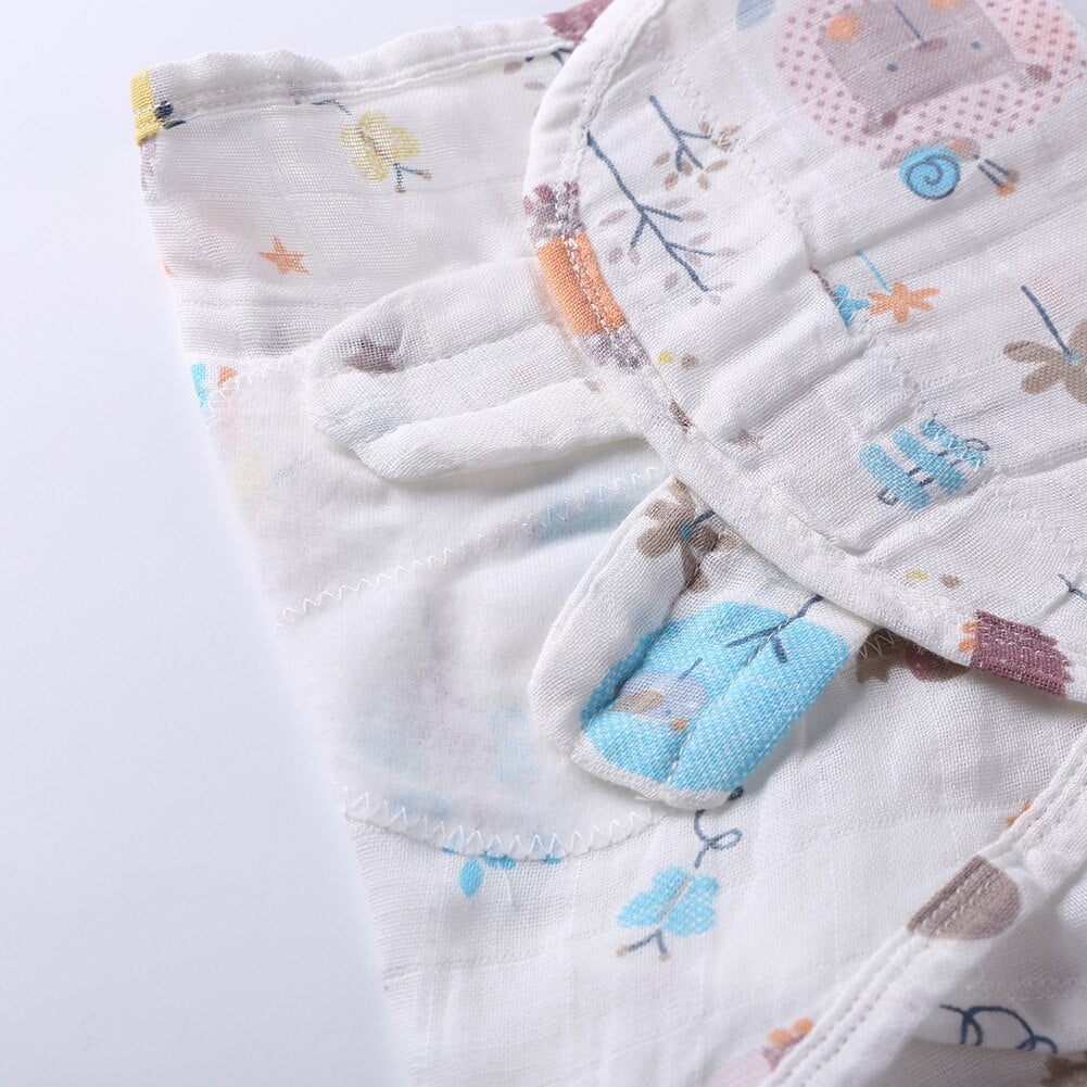 lovebabymammy.com Cotton Printed Baby Blankets Bedding Newborns Infant Swaddle Towel Cover Scarf Close Knitting and Fine Workmanship