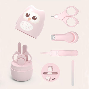 lovebabymammy.com Baby Health Care Kit Newborn Nail Hair Thermometer Grooming Brush Kit Clipper Scissor Multifunction Kid Toiletries Kit Baby Care