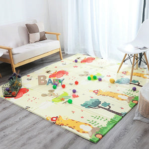 lovebabymammy.com Foldable Baby Play Mat Xpe Puzzle Mat Educational Children's Carpet in the Nursery Climbing Pad Kids Rug Activitys Games Toys