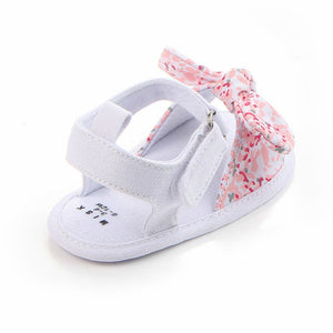 lovebabymammy.com MAYA STEPAN 1 Pair Children Baby Kids Boys Girls Shoes Non-Slip Canvas Bowknot Toddlers Newborn Infantil Sandals