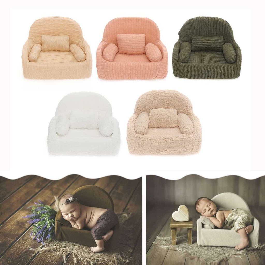 lovebabymammy.com Newborn Baby Photography Props Posing Mini Sofa Chair Decoration Fotografia Accessories Infantil Studio Shooting Props