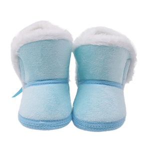 lovebabymammy.com winter baby boys girls shoes russia winter infants warm shoes Faux fur girls baby booties Leather boy baby boots