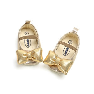 lovebabymammy.com Toddler Baby Girls Shoes Kids Girls Flats Shoes Wedding Princess Party Shoes PU Leather Shoes
