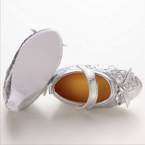 lovebabymammy.com Newborn Baby Girl High Heels Soft Sole Toddler Bowknot Princess Leather Girls Shoes Party