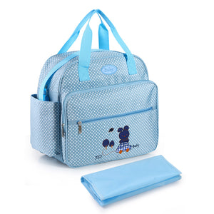 lovebabymammy.com New Cute Mommy Diaper Bag Large Capacity Maternity Bags Nappy Nursing Travel Tote Waterproof Stroller for Baby Bolsa Maternidad