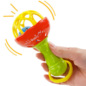 lovebabymammy.com Funny Baby Toys Little Loud Bell Ball Rattles Mobile Toy Baby Speelgoed Newborn Infant Intelligence Grasping Educational Toys