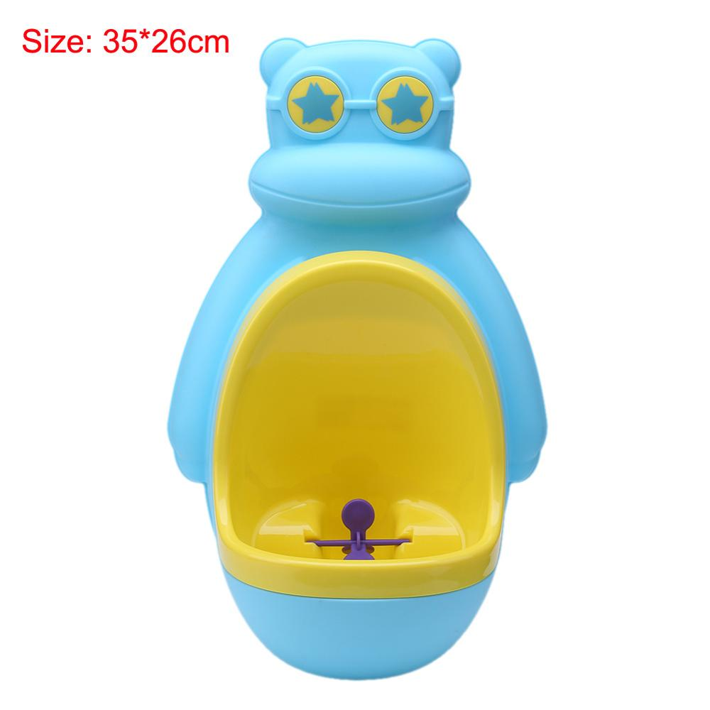 lovebabymammy.com Children Stand Vertical Urinal Infant Boy Penic PeeBaby Urinal Babies Boys Potty Toilet Training Frog Penguin Animal Shape Kids