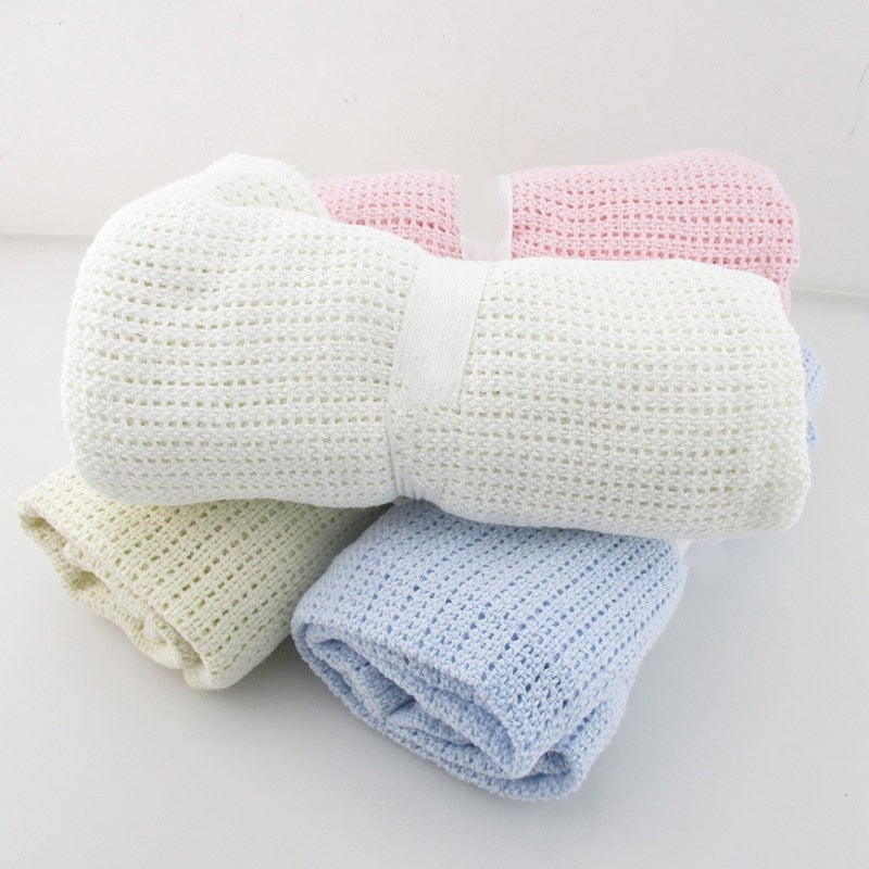 lovebabymammy.com Baby Blanket Cotton Super Soft Kids Month Blankets Newborn Swaddle Infant Wrap Bath Towel Girl Boy Stroller Cover Inbakeren