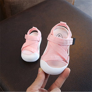 lovebabymammy.com 2020 Summer Infant Toddler Shoes Baby Girls Boys Toddler Sandals Non-Slip Breathable Soft Kid Anti-collision Shoes