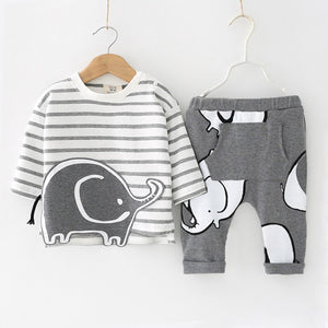 lovebabymammy.com Newborn Baby Boys Clothing Sets 2020 Autumn Winter Baby Girls Clothing Sets Outfit Sets Kids Infant Clothing For Baby Overalls 0-2 Year