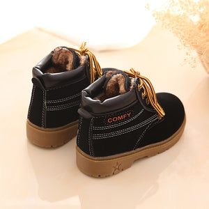lovebabymammy.com 2020 New Fashion Winter Baby Boots Boys And Girls Calzado Botas Ninas Infant Girl Winter Leather Boots Baby Warm Snow Boots