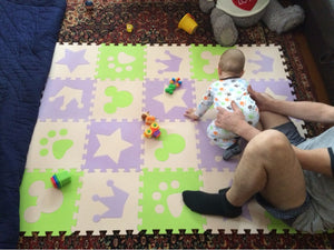 lovebabymammy.com Children's soft developing crawling rugs,baby play puzzle number/letter/cartoon eva foam play mat,pad floor for baby games
