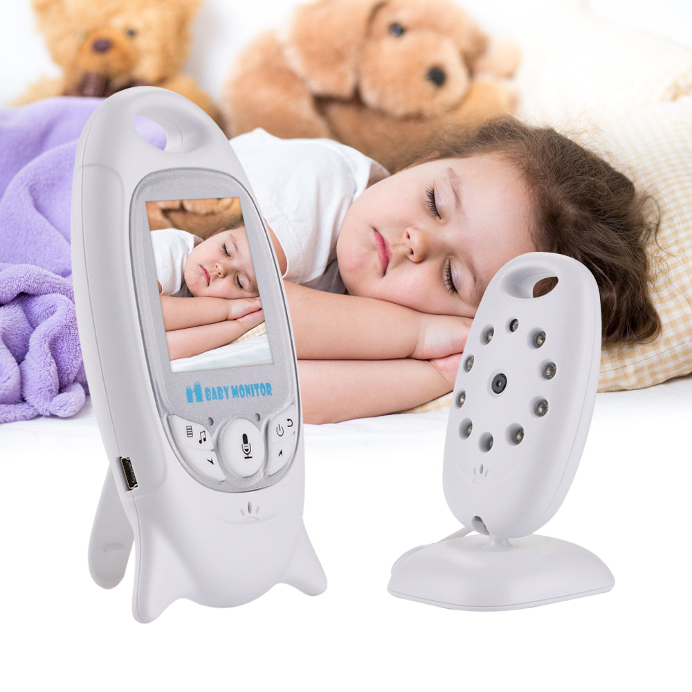 lovebabymammy.com VB601 Wireless Baby Video Monitor 2 Way Talk Night Vision Camera Infant Sleeping Monitor Music Temperature Display Nanny Monitor