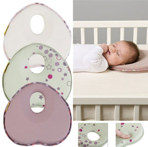 lovebabymammy.com hot baby pillow infant shape toddler sleep positioner anti roll cushion flat head pillow protection of newborn almohadas bebe