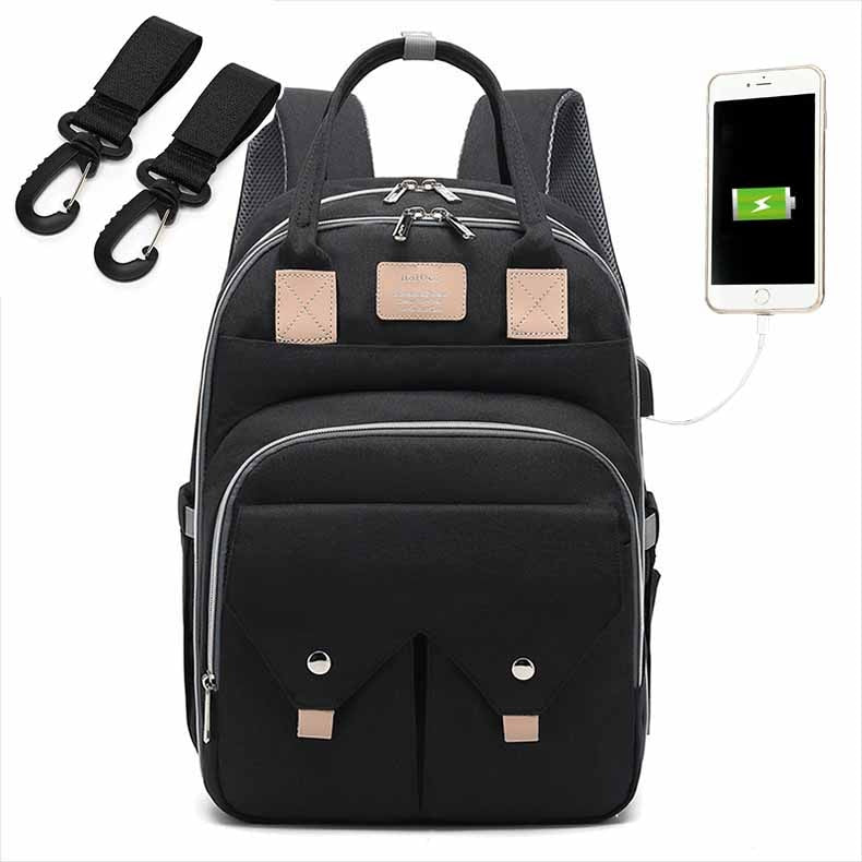 lovebabymammy.com Nappy Backpack Bag Mummy Large Capacity Bag Mom Baby Multi-function Waterproof Outdoor Travel Diaper Bags For Baby Care