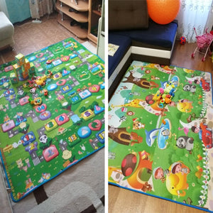lovebabymammy.com 1cm 0.5cm Thick Baby Crawling Play Mat Educational Alphabet Game Rug For Children Puzzle Activity Gym Carpet Eva Foam Kid Toy