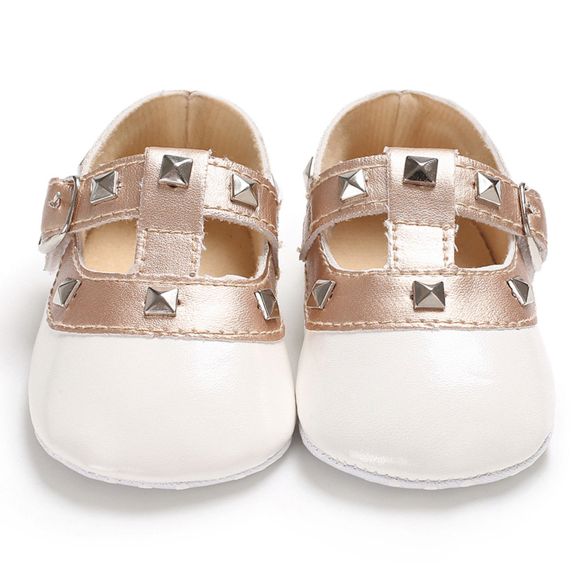 lovebabymammy.com 2020 Hot Boutique Newborn Baby Girls Shoes Bow Princess PU Leather Shoes Anti-slip Soft Sole Crib Sneaker Prewalker