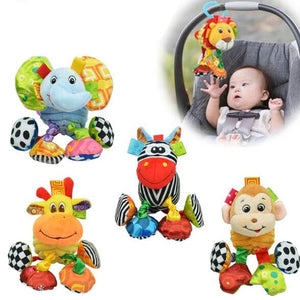 lovebabymammy.com Baby Plush Toy Vibrating Toys Animal Super Soft Comfort Newbron Gift Free Shipping SZ12