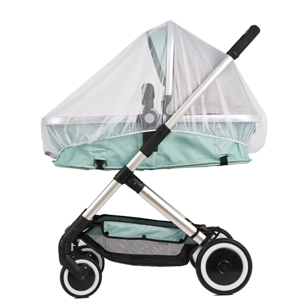 lovebabymammy.com Fly Insect Protection Accessories Children Crib Summer Mesh Buggy Full Cover Safe Mosquito Net Netting Baby Stroller Pushchair