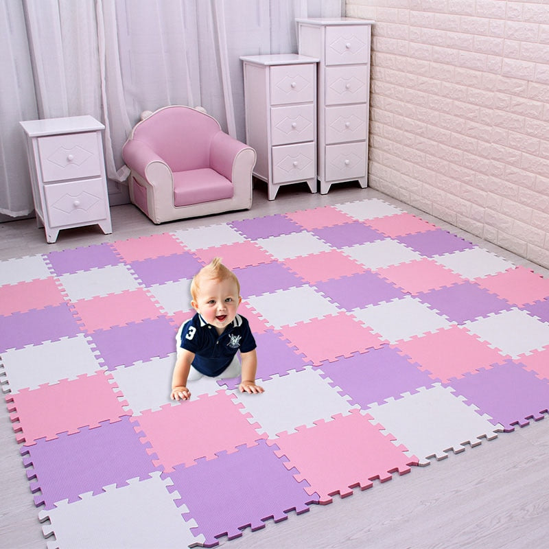 lovebabymammy.com Baby EVA Foam Puzzle Play Mat /kids Rugs Toys carpet for childrens Interlocking Exercise Floor Tiles,Each:29cmX29cm