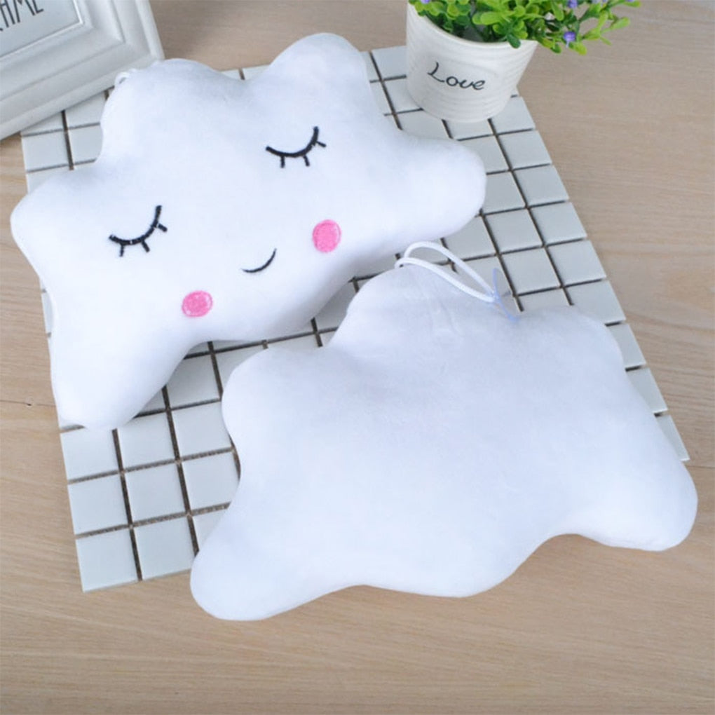 lovebabymammy.com New Cute Baby Pillow Kids Baby Cushion Cotton Baby Room Decor Child Soft Newborn Bed Doll Gifts Kids Doll Baby Seat Plush