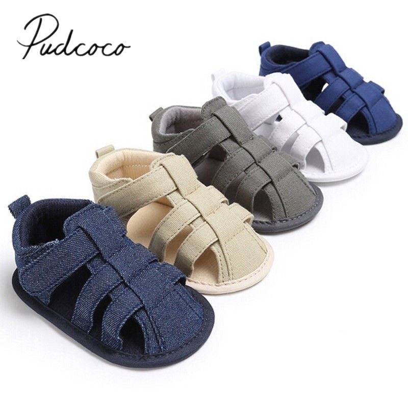 lovebabymammy.com 2020 Brand New Toddler Infant Newborn Kids Baby Boys Canvas Soft Sole Crib Sneakers Sandals Shoes Fashion Baby Shoes