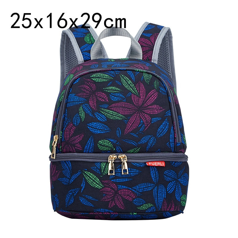 lovebabymammy.com USB Interface Baby Nappy Bag Mommy Maternity Shoulders Backpack Designer Diaper Bag with Thermal Insulated Bottle Pocket