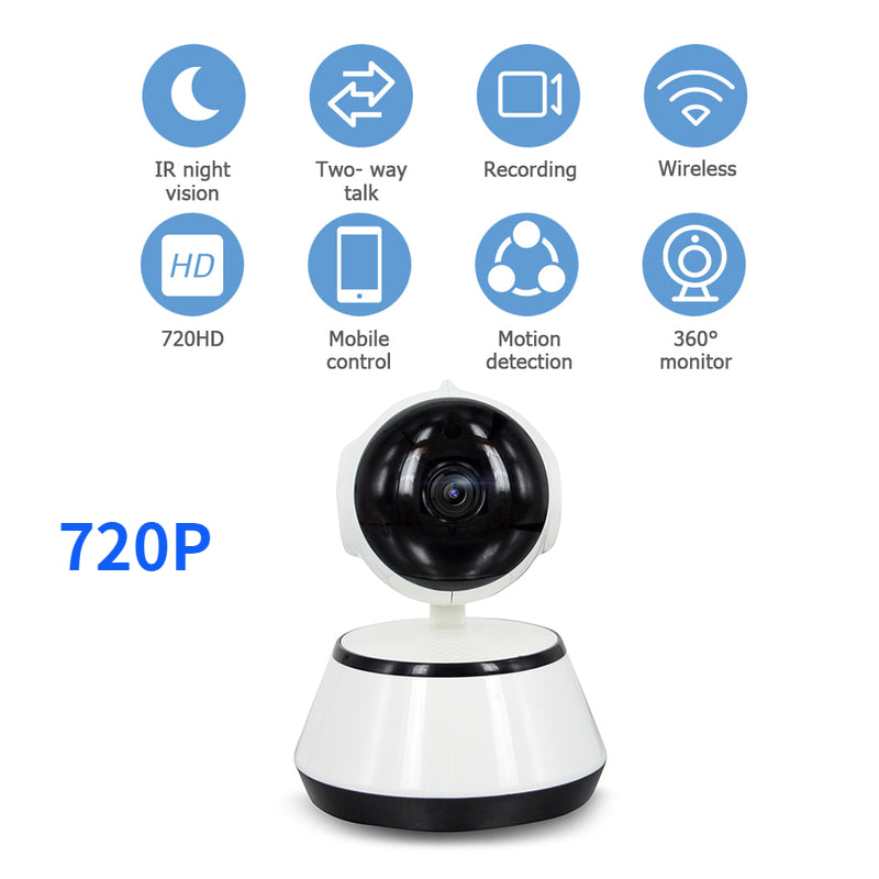 lovebabymammy.com Baby Monitor Electronic Infant Wireless Video Camera 720PHD WiFi Wireless IR Night Vision Temperature Monitoring Radio IP Camera