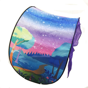 lovebabymammy.com Fashion Printing Kids Dream Tents Baby Pop Up Bed Tent Fantasy Cartoon Snowy Foldable Playhouse Comforting Sleeping mosquito net