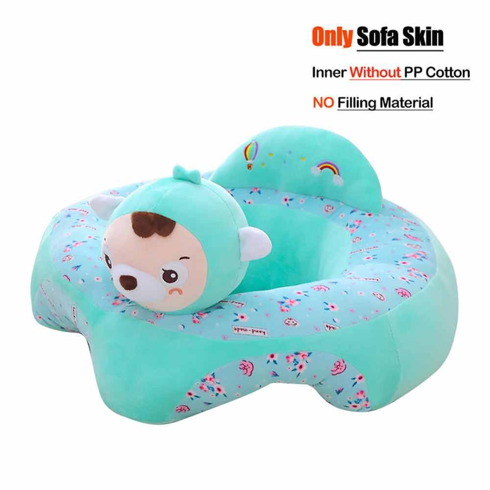 lovebabymammy.com Cute Baby Sofa Cover Skin Without Cotton Learning To Sit Chair Case Skin for Infant Feeding Sofa Washable Baby Seat Cover