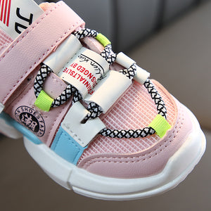 lovebabymammy.com Autumn new arrivals girls sneakers shoes for baby toddler sneakers shoe size 21-30 fashion breathable baby sports shoes